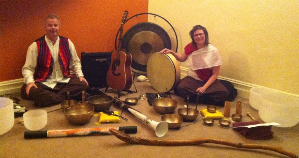 Heather Frahn and Stuart Rose - Therapeutic Sound and Music on Retreat