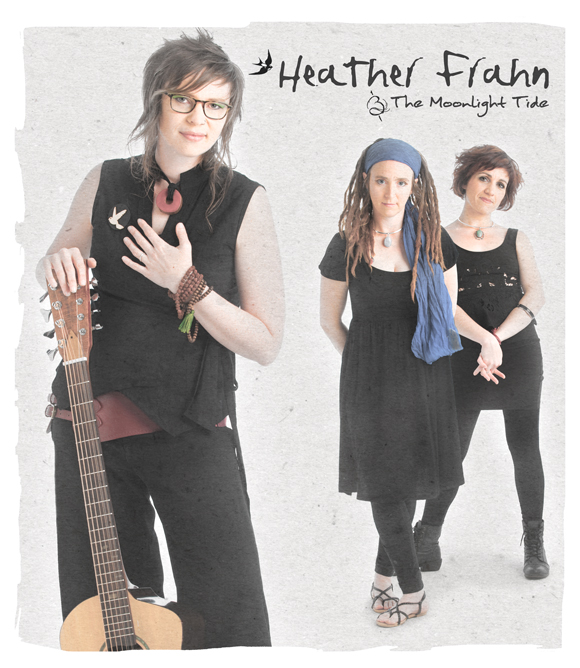 Heather Frahn and The Moonlight Tide featuring Michelle Byrne and Michaela Burger will be performing on Nov 22nd at the upcoming house concert!