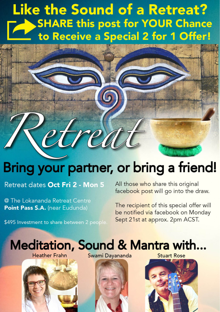 2-for-1 Retreat Offer