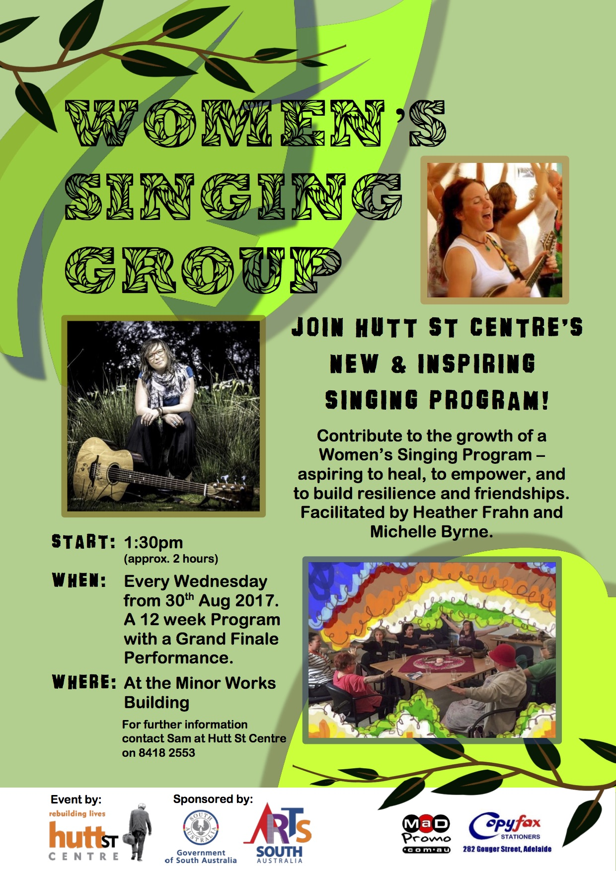 Helping Aspire Hope and Empowerment Through Womens Singing Group